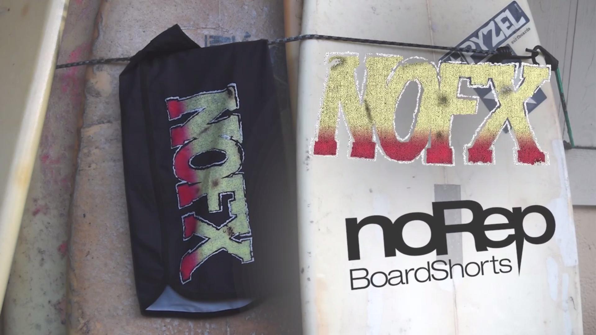 NOFXアルバムボードショーツ